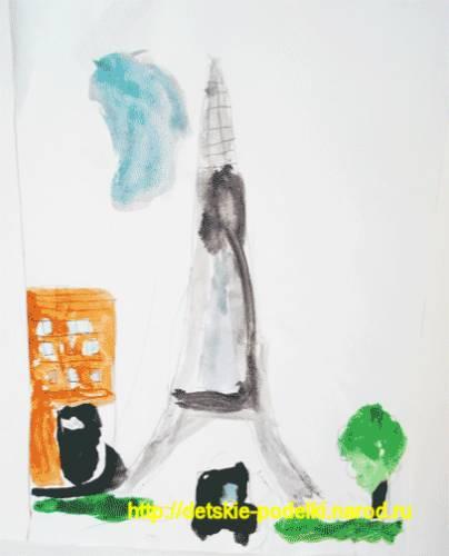 Ракета - Детские рисунки - Фотоальбомы - Поделки детские Интересные идеи поделок в видео.